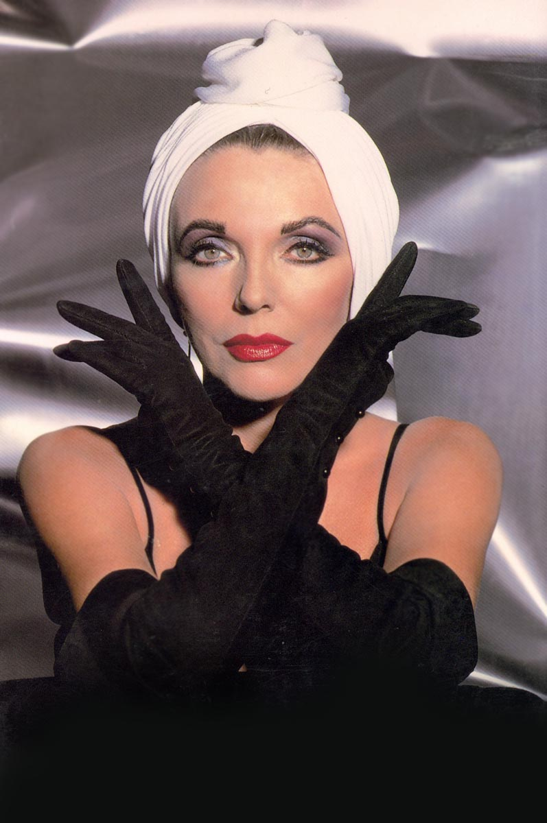 Joan Collins, Culver City, California