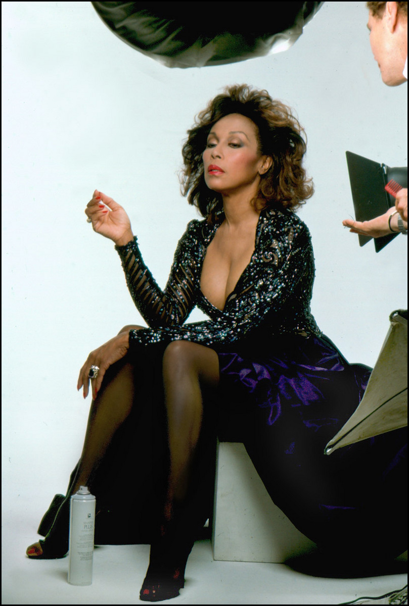 Diahann Carroll, Culver City, California