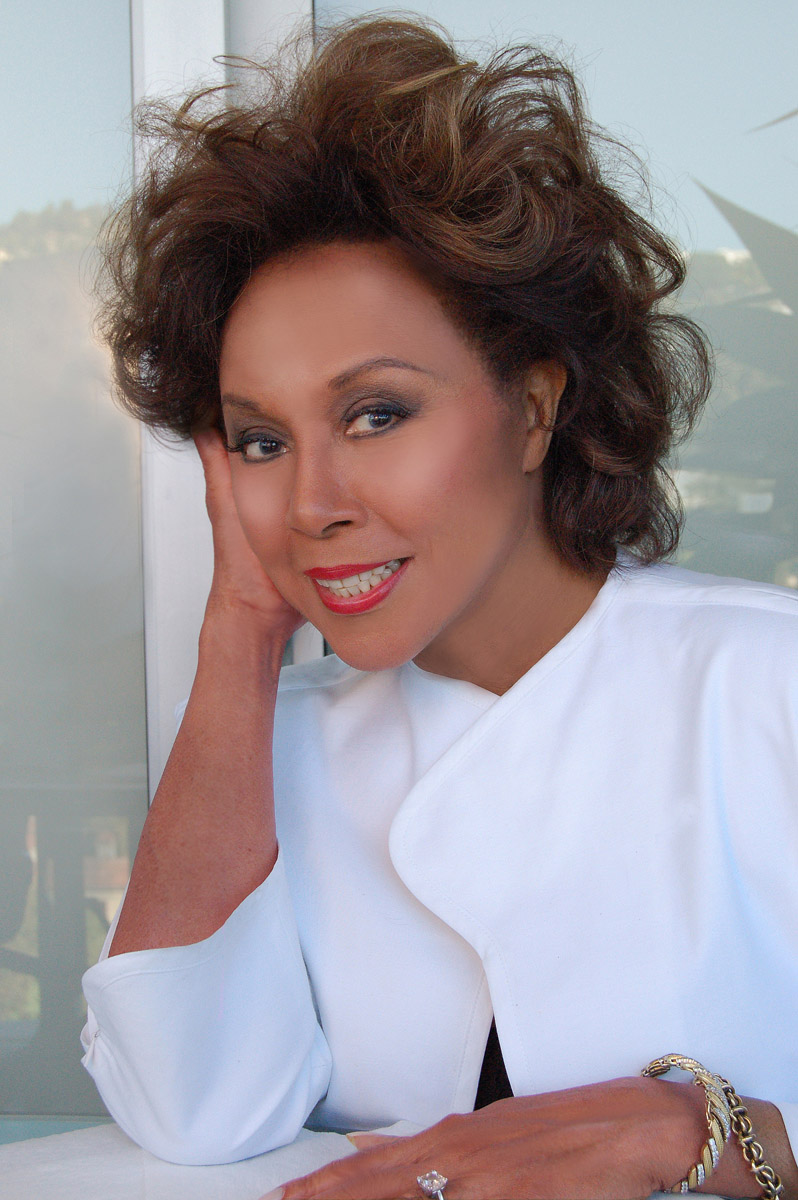 Diahann Carroll, West Hollywood, California