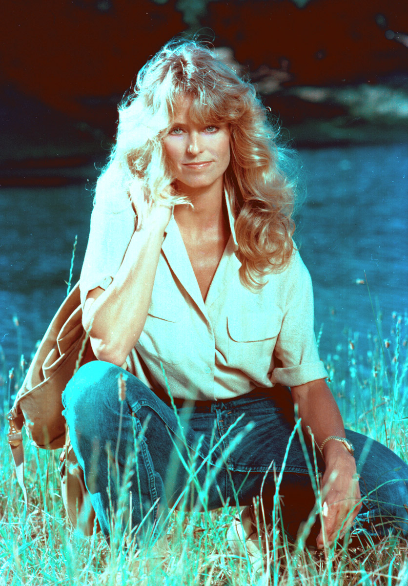 Farrah Fawcett, Franklin Canyon, Bel Air, California