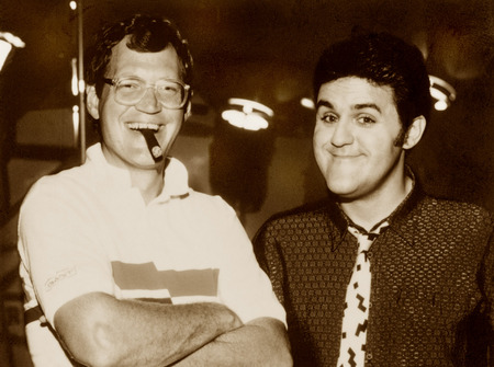 David Letterman and Jay Leno, New York City
